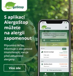 Aplikace AlergoStop